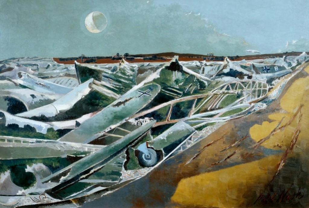 Totes Meer (Dead Sea) 1940-1 by Paul Nash, (c) Tate