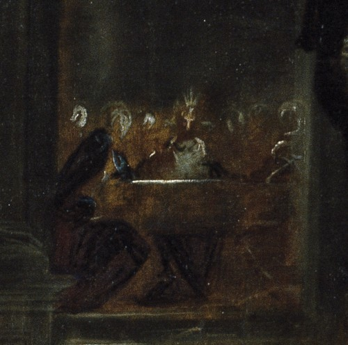 Prado last supper detail