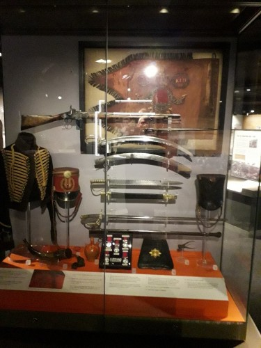 Display cabinet at Discovery Museum