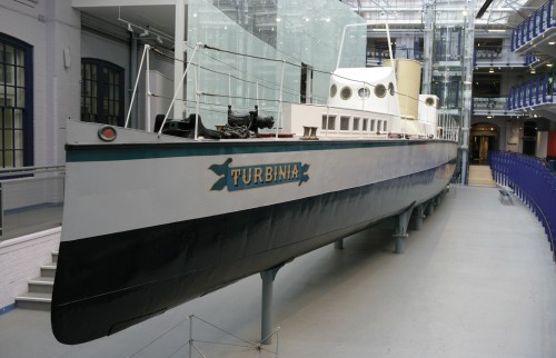 Turbinia in Discovery Museum
