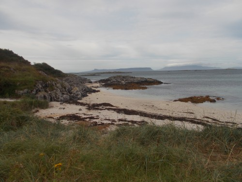 Eigg (middle horizon) from Arisaig